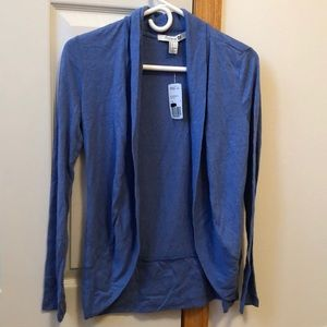 NWT F21 Blue Cardigan Small